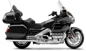 Taxi moto Goldwing Black
