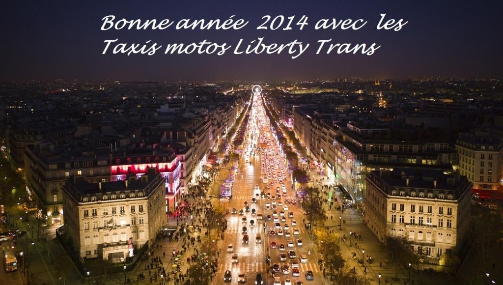 Votre taxi moto à Paris pour 2014