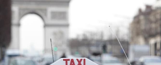 Greves taxi Paris
