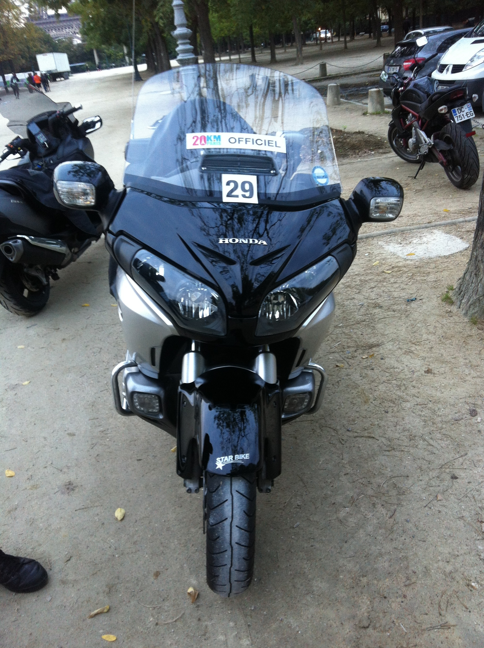 Goldwing Liberty 20 km Paris
