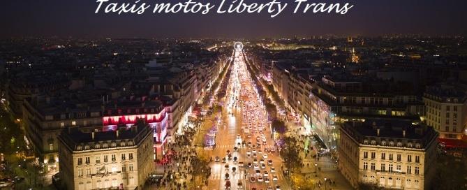 LibertyTrans taxi moto Paris 2014
