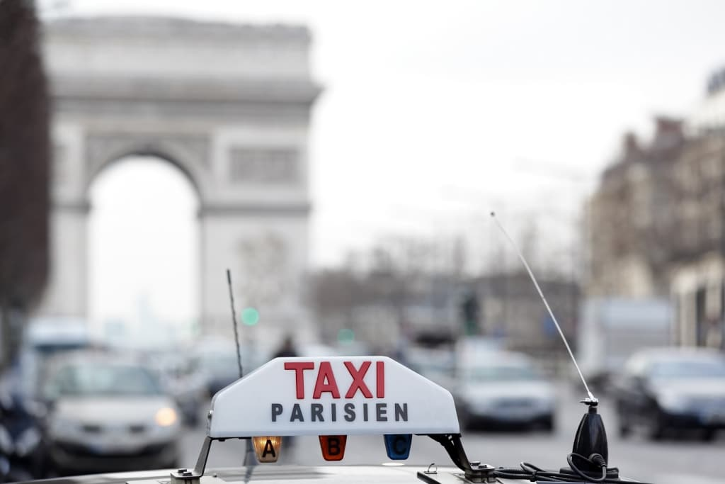 Greves taxi Paris
