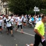 Arrivée des coureurs handicapés 20 km de Paris