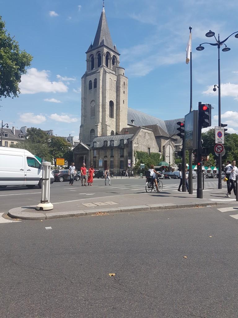 Taxi moto Paroisse Saint-Germain-des-Prés 75006