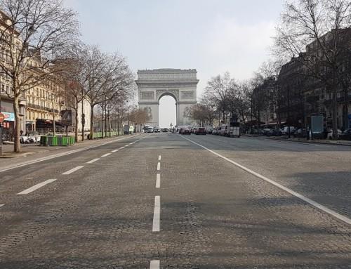L'hiver en taxi-moto et VTC à Paris
