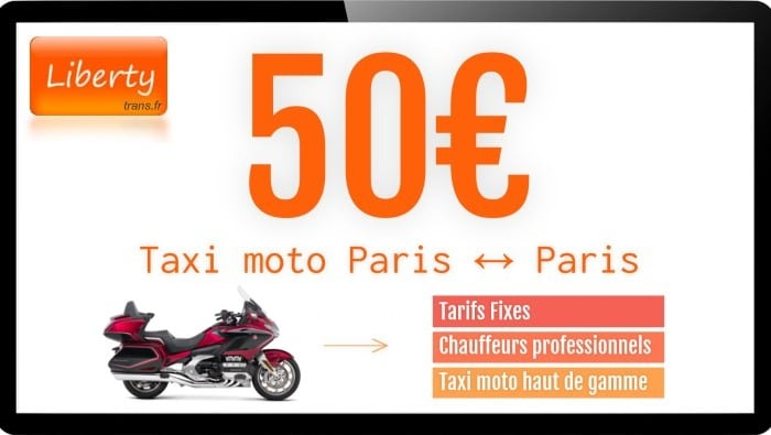 Taxi-moto Paris Liberty Trans
