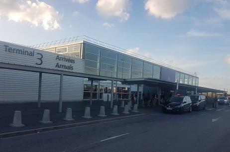 Moto-taxi Roissy CDG Terminal 3