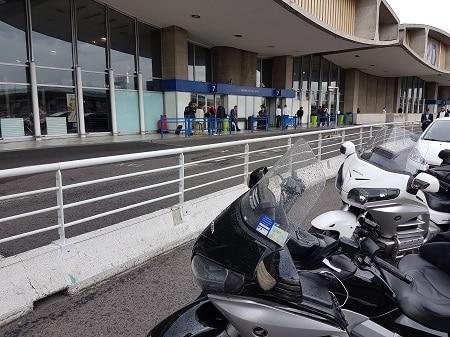 Motos-taxis Roissy CDG Terminal 2D