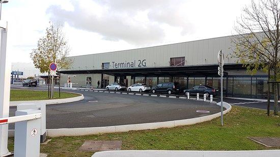 Motos-taxis Roissy CDG Terminal 2G