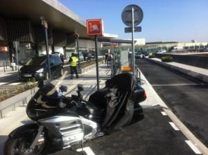 Liberty Trans taxi moto aéroport Orly